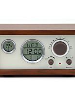 SY-601 Rádio Relogio Despertador Café Marron