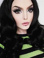 Uniwigs Black Body Wave Synthetic Wigs Heat Resistent Synthetic Fiber Dark Color