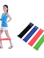 Latex Fitness Strength Training Rubber Belt 4Pcs/Set