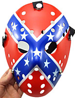 Halloween Porous Jason Killer Mask Stars and Stripes Thick Horror Hockey Cosplay Carnaval Masquerade Party Costume Prop