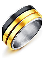 Men's Band Rings Fashion Vintage Elegant Titanium Steel Ring Jewelry For Wedding Engagement Ceremony Evening Party Stage