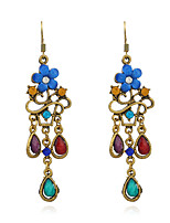 Women's Earrings Set Basic Vintage Emerald Alloy Jewelry For Gift Evening Party Going out Club Street