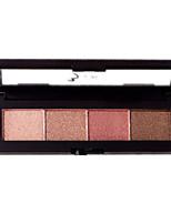4*4 Lidschattenpalette Schimmer Lidschatten-Palette Alltag Make-up Smokey Makeup