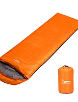 Sleeping Bag Rectangular Bag Double -15 -25 0 Hollow CottonX75 Camping / Hiking Keep Warm Adjustable Size Breathable Foldable