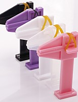 1PC Nail Art Positioning Clamp Nails The Plastic Clip Color Random