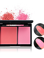 Double-color Blush Matte Finish Silhouette Enhance The Color Of Color Two-color Repair Powder Cosmetics