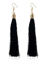 Lureme Women's Elegant Long Tassel Dangle Earrings for Girls Fringe Drop Earrings
