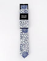 Men's Cotton Neck Tie,Fashion Print All Seasons