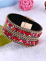 Women's Bracelet Handmade Classic Leather Circle Jewelry For Daily Casual Going out