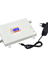 4g fdd lt 2600mhz 3g w-cdma umts 2100mhz Dual-Band-Handy-Signal Booster 3g 4g Signal-Repeater mit 12V Power / lcd-Display / weiß