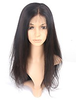 Hot 360 Lace Frontal Human Hair Lace Wigs 150% Density Straight Hair 8''-22'' 360 Lace Wigs With Baby Hair