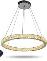 Dimmable LED Ring Deckenleuchte Pendelleuchten moderne Kronleuchter Beleuchtung Innenlampe mit Fernbedienung