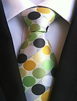 Men's Polyster Neck TieNeckwear Polka Dot All Seasons W0065