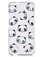 economico -Custodia Per Xiaomi Transparente Fantasia/disegno Per retro Panda Cartoni animati Morbido TPU per Xiaomi Redmi Note 4 Xiaomi Redmi Note 3