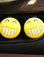 Pare-choc de grille de sortie d'air de voiture, personnalité charmante, purificateur d'air automobile créatif