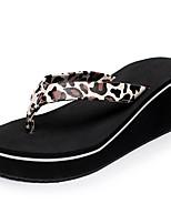 Damen Slippers & Flip-Flops Hausschuhe & Flip-Flops Komfort Leuchtende Sohlen Sommer Künstliche Mikrofaser Polyurethan Normal Kleid