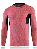 Men's Running T-Shirt Long Sleeves Fitness, Running & Yoga Compression Clothing Top for Yoga Running/Jogging Exercise & Fitness Leisure