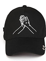 Women's Cotton Baseball Cap,Hat Solid Spring/Fall Summer