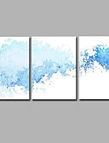 H2O Type-L 3 Panels 100% Hand-painted Oil Paintings on Canvas Modern Artwork Wall Art for Room Decoration 20x28inchx3