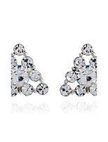 Women's Stud Earrings Rhinestone Basic Hypoallergenic Simple Style Classic Rhinestone Alloy Jewelry For Gift Daily Casual Evening Party