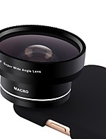XiHAMA Smartphone Camera Lenses 0.45X Wide Angle 12.5X Macro Fish-eye Lens for ipad iphone Huawei xiaomi samsung