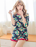 Pyjama Coton Chinlon Femme