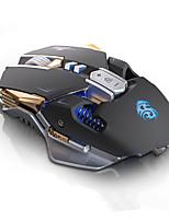 Mouse g10 mouse mouse 9 botões 4 cores com luz usb com fio mouse gamer mouse óptico profissional 4000 dpi ajustável