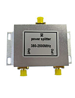Leistungsteiler 2 Ausgänge gps Signalteiler Mobiltelefonsignalteiler wifi Signalverteiler 380--2500mhz Signalteiler