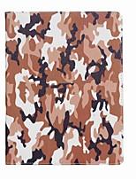 economico -Per il ipad (2017) custodia di carta di copertura di caso copertina del modello del camuffamento pieno del corpo del cuoio del cuoio duro