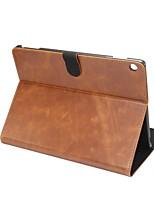 Solide verrückte ma Muster echtes Leder Fall mit Stand für huawei mediapad m3 lite 10.0 m310 10,1 Zoll Tablette PC