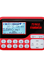 Malata T5 Portable Radio Card Mini Applicable Older MP3