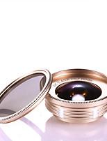 Voliee obiettivo del telefono mobile 0.45x grandangolo 15x macro cpl obiettivo esterno