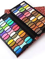 Lidschattenpalette Nass Schimmer Lidschatten-Palette Puder Alltag Make-up Party Make-up Cateye Makeup