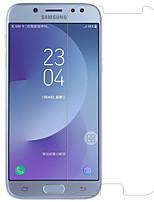 Verre Trempé Protecteur d'écran pour Samsung Galaxy J7 (2017) Ecran de Protection Avant Haute Définition (HD) Dureté 9H Coin Arrondi 2.5D