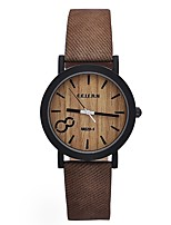Men's Women's Sport Watch Military Watch Dress Watch Fashion Watch Wrist watch Casual Watch Wood Watch Chinese QuartzWater Resistant /