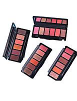 6*4 Lidschattenpalette Schimmer Lidschatten-Palette Alltag Make-up Smokey Makeup