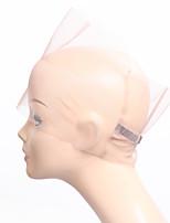 360 fechamento de renda de laço de rede completa base de tampa de perna mão cheia feita para fazer peruca de renda cheia com alça