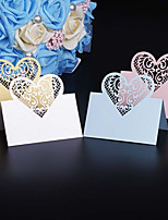 Marque-place(,Papier durci) -Thème jardin Thème classique Vacances Fête prénatale Romance Mariage Naissance Anniversaire Personnalisé