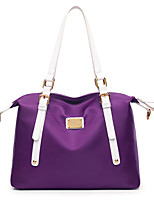 Women Bags All Seasons Nylon Tote for Event/Party Casual Formal Outdoor Office & Career Purple