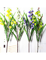 1 PC Hot Sales Model 3 Head Of Fragrant Snow Orchid/daffodil Home Decoration Artificial Artificial Flowers