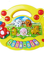 Music Toys Toy Instruments Toys Square Piano Musical Instruments Animals Plastics Hard plastic Pieces Kid Unisex Gift