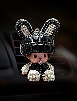 Car Air Outlet Grille Perfume Lovely Personality Creative Automotive Air Purifier