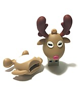 64GB Christmas USB Flash Drive Cartoon Christmas Deer Christmas Gift USB 2.0