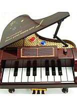 Scatola musicale Giocattoli Pianoforte Pezzi Unisex Regalo