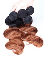 Ombre Hair Weaves Peruvian Texture Body Wave 12 Months Three-piece Suit hair weaves