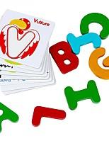 carte cognitive pour l'éducation de la petite enfance paire de jouets en bois jj7701-0533