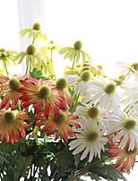Chrysanthème asiatique chrysanthème mariage simulation fleur usine 5 branche