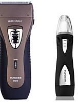 flyco fs619 rasoio elettrico rasoio dispositivo naso 100240v indicatore di carica lavabile