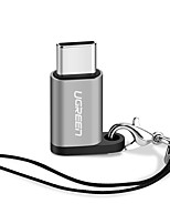USB 2.0 Typ C Adapter, USB 2.0 Typ C to Micro USB 2.0 Adapter Male - Female 0,15m (0.5Ft)