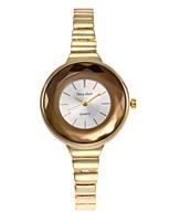 Women's Fashion Watch Bracelet Watch Unique Creative Watch Chinese Quartz Alloy Band Charm Silver Gold